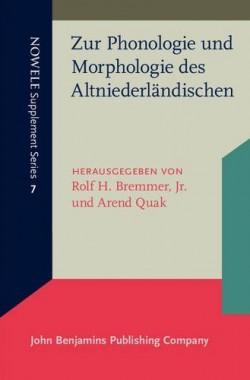 Zur-Phonologie-und-Morphologie-des-Altniederlndischen-NOWELE-Supplement-Series-8774928783